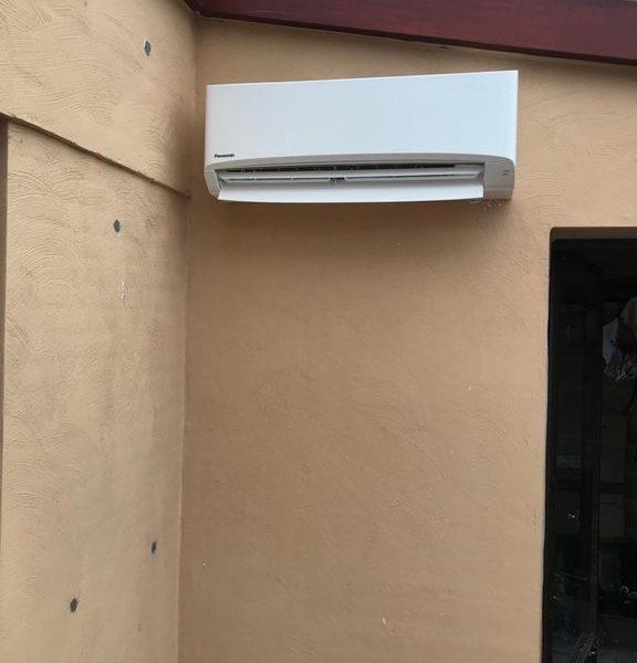 Realisatie luchtlucht warmtepomp Panasonic te Geel (1)
