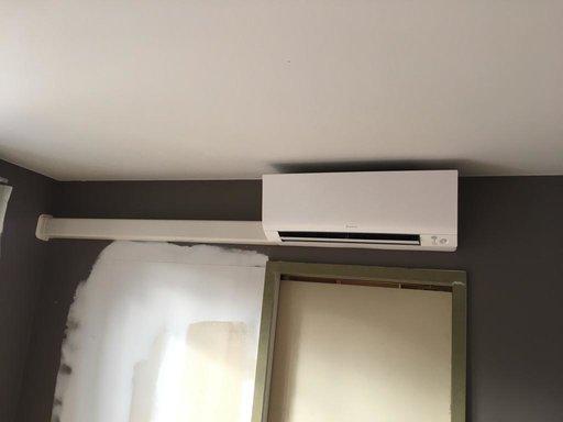 Realisatie Daikin warmtepomp-airco luchtlucht te Hasselt