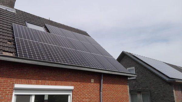 Realisatie 16 LG zonnepanelen 340 NeOn met SMA omvormer SB3.6 te Mol