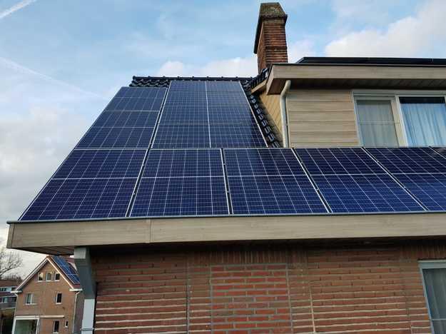 Realisatie 21 zonnepanelen REC 295TP met SMA omvormer SB4.0 te Hasselt