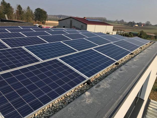 Realisatie 34 zonnepanelen REC 270 PE Wp met SMA omvormer STP7000TL-20 te Lubbeek