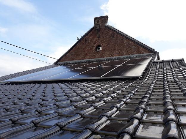 Realisatie 22 zonnepanelen LG 400 Wp met SMA omvormer STP6.0 te Wellen