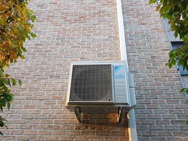 Totaalproject Daikin Perfera aircowarmtepomp en 29 zonnepanelen REC 325 Wp SEMI BLack met SMA Omvormer STP6.0 te Diest