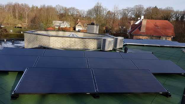 Realisatie 20x zonnepanelen Peimar 310 Wp Full Black met SMA omvormer SB4.0 te Oud-Turnhout