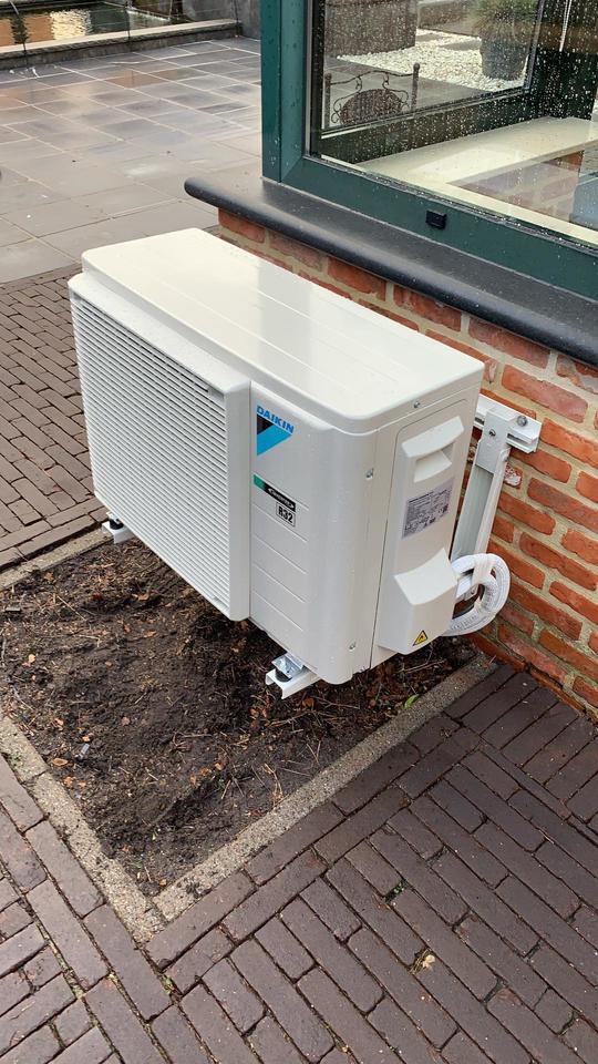 Realisatie Daikin Classi vloermodel aircowarmtepomp te Lommel