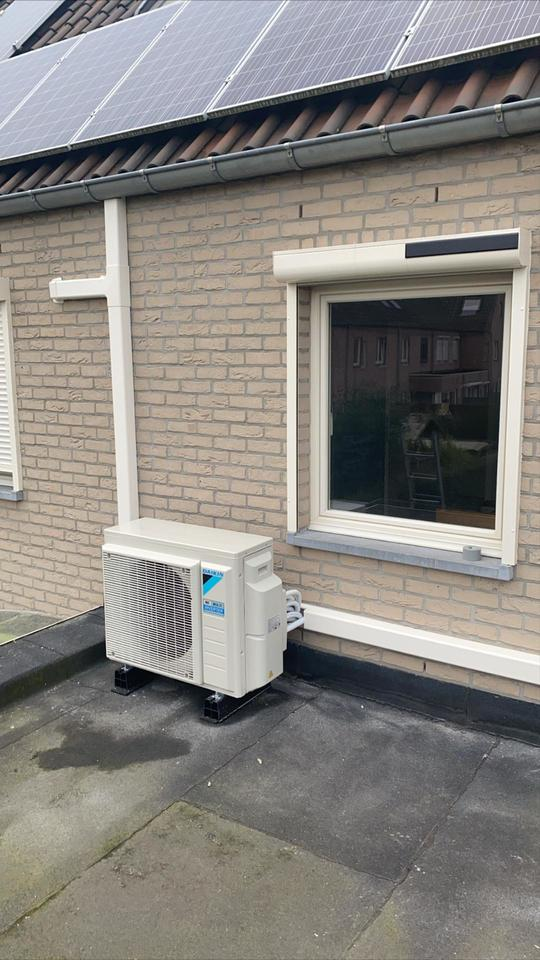 Realisatie Daikin Perfera multisplit airco warmtepomp te Kontich