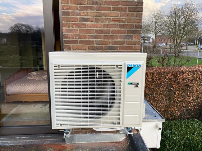 Realisatie Daikin Comfora single split aircowarmtepomp te Hasselt