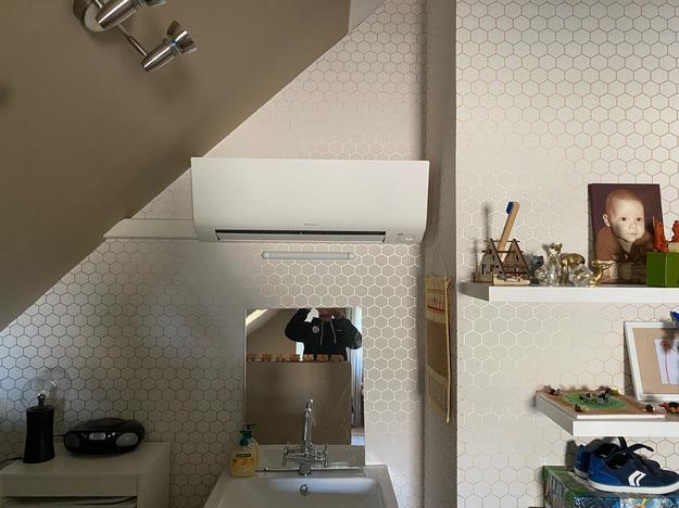 Realisatie Daikin Perfera multisplit aircowarmtepomp te Lommel