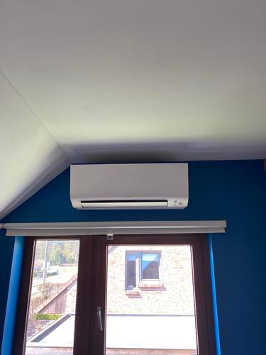 Realisatie Daikin Perfera multisplit aircowarmtepomp te Tremelo