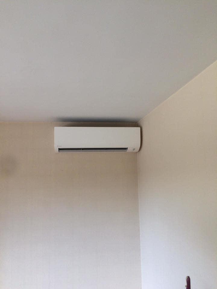 Realisatie Daikin Comfora single split aircowarmtepomp te Boutersem