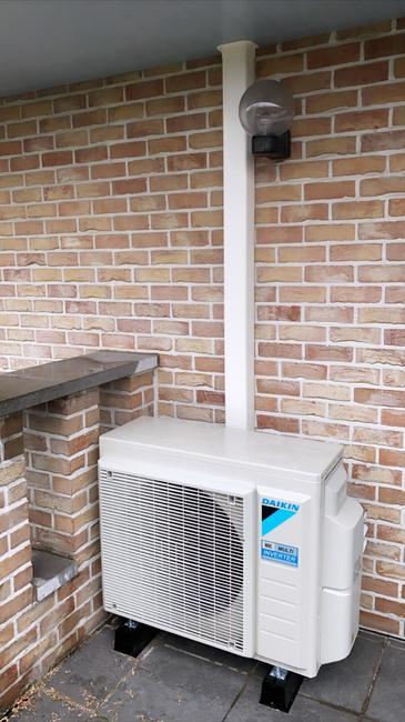 Realisatie Daikin multisplit aircowarmtepomp met Perfera binnenunits te Balen