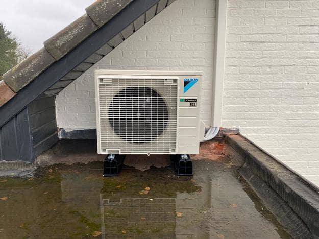 Realisatie Daikin Comfora single split aircowarmtepomp te Lommel