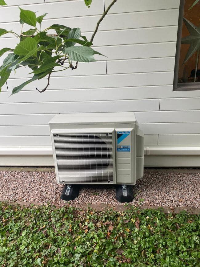 Realisatie Daikin multi split aircowarmtepomp met 3 Classic binnenunits te Heusden-Zolder