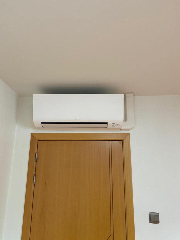 Realisatie Daikin multisplit aircowarmtepomp met 5 Perfera + Stylish binnenunits te Beringen