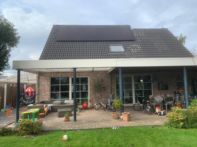Realisatie 14x REC 320 Full Black zonnepanelen met SMA omvormer SB3.0 te Lommel