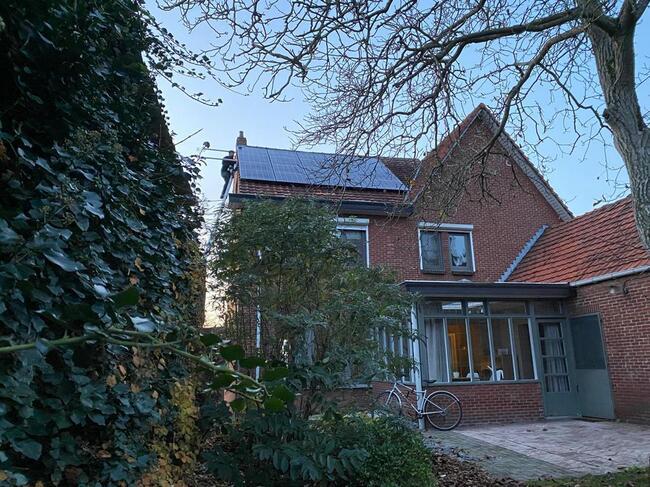 Realisatie 20x QCELLS zonnepanelen 350 met Solar Edge omvormer + optimisers te Lommel (3)