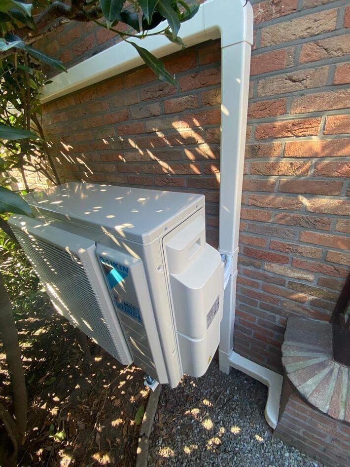 Realisatie Daikin multisplit aircowarmtepomp met Stylish zilver + Perfera binnenunits te Houthalen